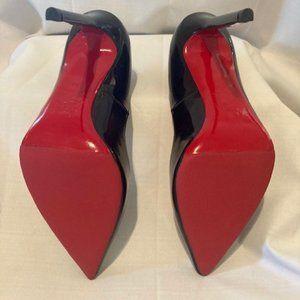Christian Louboutin Shoes - CHRISTIAN LOUBOUTIN Black Patent Leather 9/10